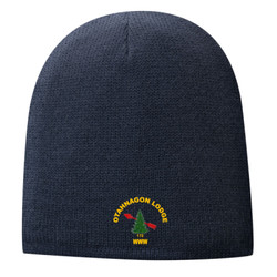 CP91L - B101E002 - EMB - Fleece Lined Beanie